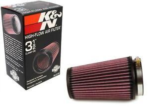 K&N Universal 3.5'' Air Intake Cone Filter 89mm RU-3130 Car Truck SUV