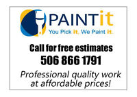 PAINT-IT!! PROFESSIONAL PAINTER!!! AFFORDABLE PRICES!!!