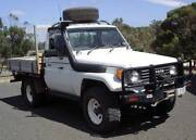 1990 Toyota Land Cruiser Cab Chassis Laanecoorie Loddon Area Preview