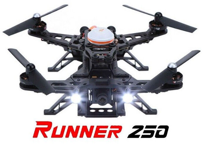 WIRE RED RC Racing Drone Quad LIGHT SYSTEM POWERFUL 10mm HALO LED WHITE