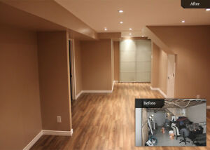 Basement Finish, Remodeling , Kitchen  and Bath - Reno