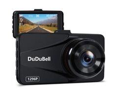Dash Cam 1296P 2K Car Camera Dashboard Video Recorder Full HD DVR 170° Wide Angle