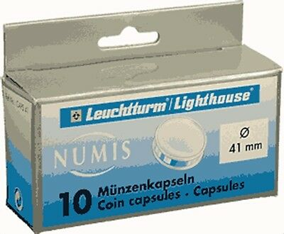 41mm - Coin Capsules,(10) pack  on Rummage