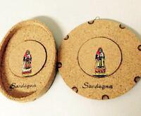 Souvenir Sardegna N. 2 Quadri In Sughero Da Appendere -  - ebay.it