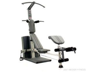 Weight machine &  Elliptical Trainer