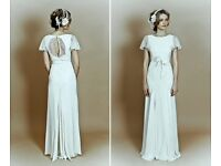 Belle and Bunty designer lace willow wedding dress