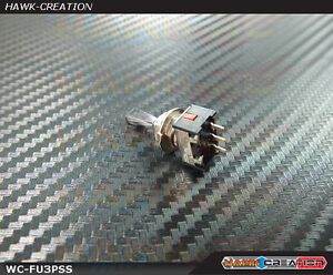 Futaba Toggle Switch ML-1BFSP 3-Position Short T6J, 14MZ/SG, 18MZ/SZ