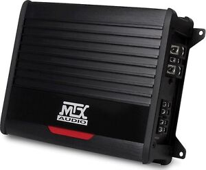 MTX THUNDER500.1 Mono car subwoofer amp 500 watts RMS