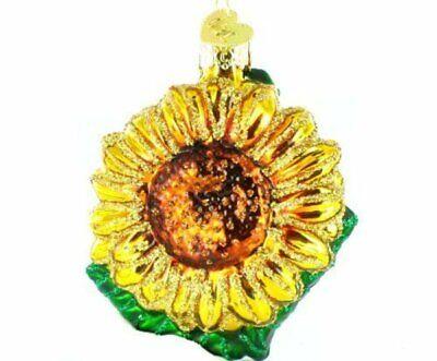 Old World Christmas 36124 Glass Blown Garden Sunflower Ornament