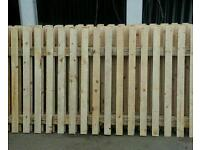FENCE PANELS 6FT WIDE X 4FT HIGH