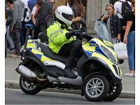 2011 Piaggio MP3 300 - 1 Owner FSH Ex Police - Possible Car License?