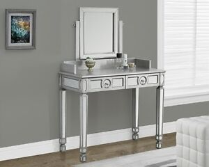MIRRORED FURNITURE VANITY MIRRORED CHEST CONSOLE SOFA TABLE