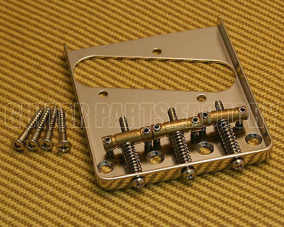 007-4944-000 Fender Classic Vibe Nickel/Brass 3-saddle Telecaster/Tele Bridge