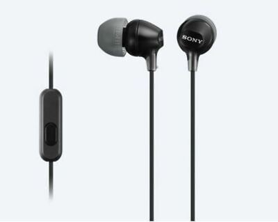 SONY MDR-EX15AP IN EAR STEREO EARPHONES HEADPHONES EARBUDS with MIC for sale  Shipping to India