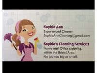 Friendly English cleaner in the Bristol Area