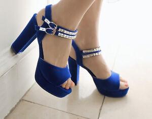 Scarpe Blu Tacco 5