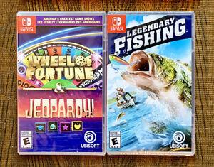 2 Excellents Jeux - Nintendo Switch - Neufs Emballés