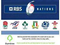 France vs England 6 Nations Tickets, 10th March