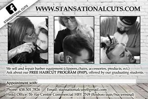 FREE HAIRCUTS BY OUR TALENTED STUDENTS West Island Greater Montréal image 3