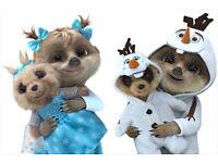 Olaf as Oleg Meerkat Toy
