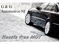 """""""Hassle Free"""" MOT Service from only £30"""