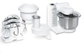 Bosch MUM4835 Küchenmaschine Rühren Mixen Zerkleinern Edelstahl Rührschüssel