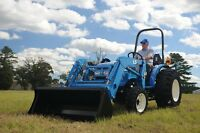 New 33HP 4wd LS Tractor with loader
