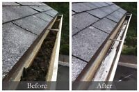 PRO GUTTERS / EAVESTROUGHS CLEANING