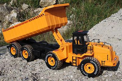RC Kipplaster BIG TRUCK ferngesteuerter Muldenkipper Baufahrzeug Lastwagen