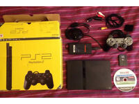 PS2 Slimline Boxed + 1 Controller