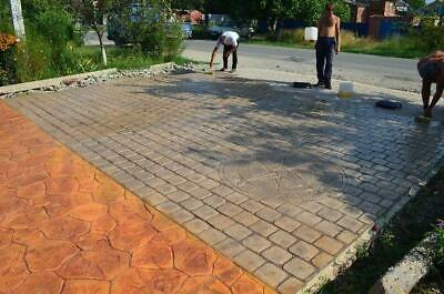 Stone Decorative Polyurethane Stamp For Concrete Pavement For Floor And Tracks