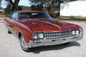 1966 Oldsmobile Ninety Eight 98 Coupe