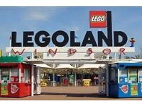 Legoland Tickets 18th October 2017 x 4