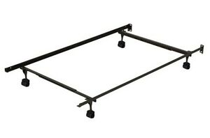 Twin-queen bed frame