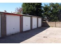Garage with space for rent for a motorcycle motorbike