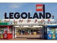 Legoland Tickets 18th October 2017 x 4
