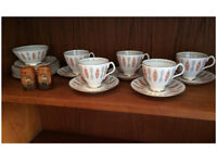 1950s/60s Vintage Tea Set - Royal Albert China Safari
