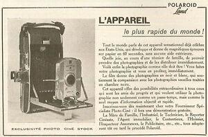 appareil photo polaroid model 95