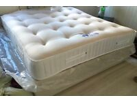 BRAND NEW 2000 POCKET SPRUNG DOUBLE MATTRESSES REAL LUXURY FREE DELIVERY