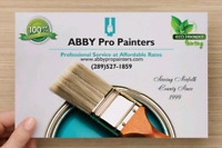 Professional painting at affordable rates