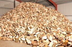 Seasoned hardwood logs for sale