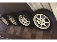 "Honda Integra Type R DC2 96 spec wheels 15"" OEM"