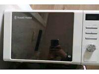 Russell hobbs microwave mirrored finish