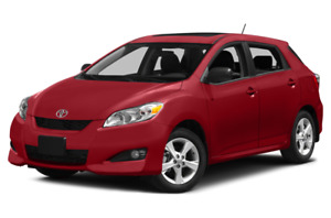 Wanted: Serious Buyer for 2014 Toyota Matrix AWD