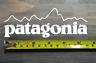 Patagonia Sticker Decal White DIE CUT 5.5