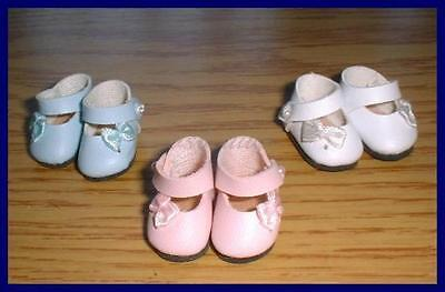 BROWN Vogue Authorized Reproduction Doll SHOES fit GINNY Ginger Muffie