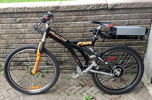 eBike Specialized FSR 48v, double suspension Fox, 36 km/h !!
