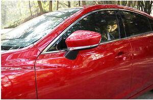 NEU Spiegelleiste Chrom aus ABS fuer Mazda 6 ab Bj 2013