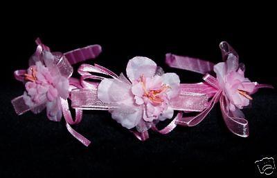 rautjungfer Party Stirnbänder Einheitsgröße Pink (Party-stirnbänder)