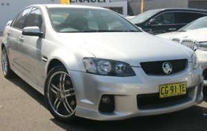 2010 Holden Commodore VE II SV6 Silver 6 Speed Sports Automatic Sedan Sylvania Sutherland Area Preview
